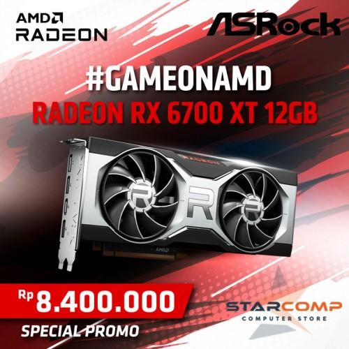 ASROCK RADEON RX 6700 XT 12GB RDNA 2